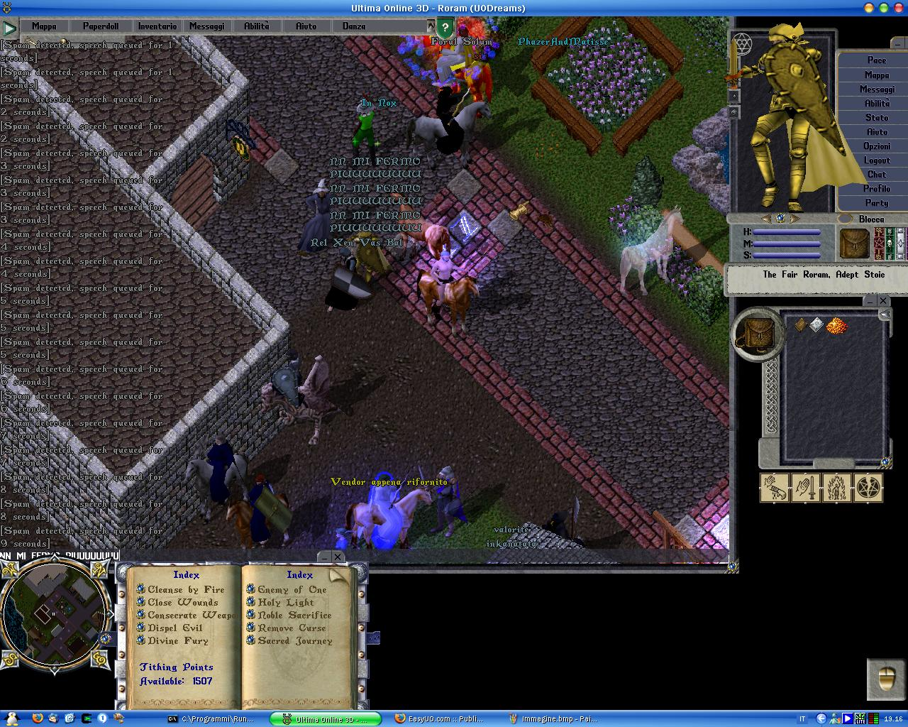 Ultima Online Dreams - UO Italian Shard